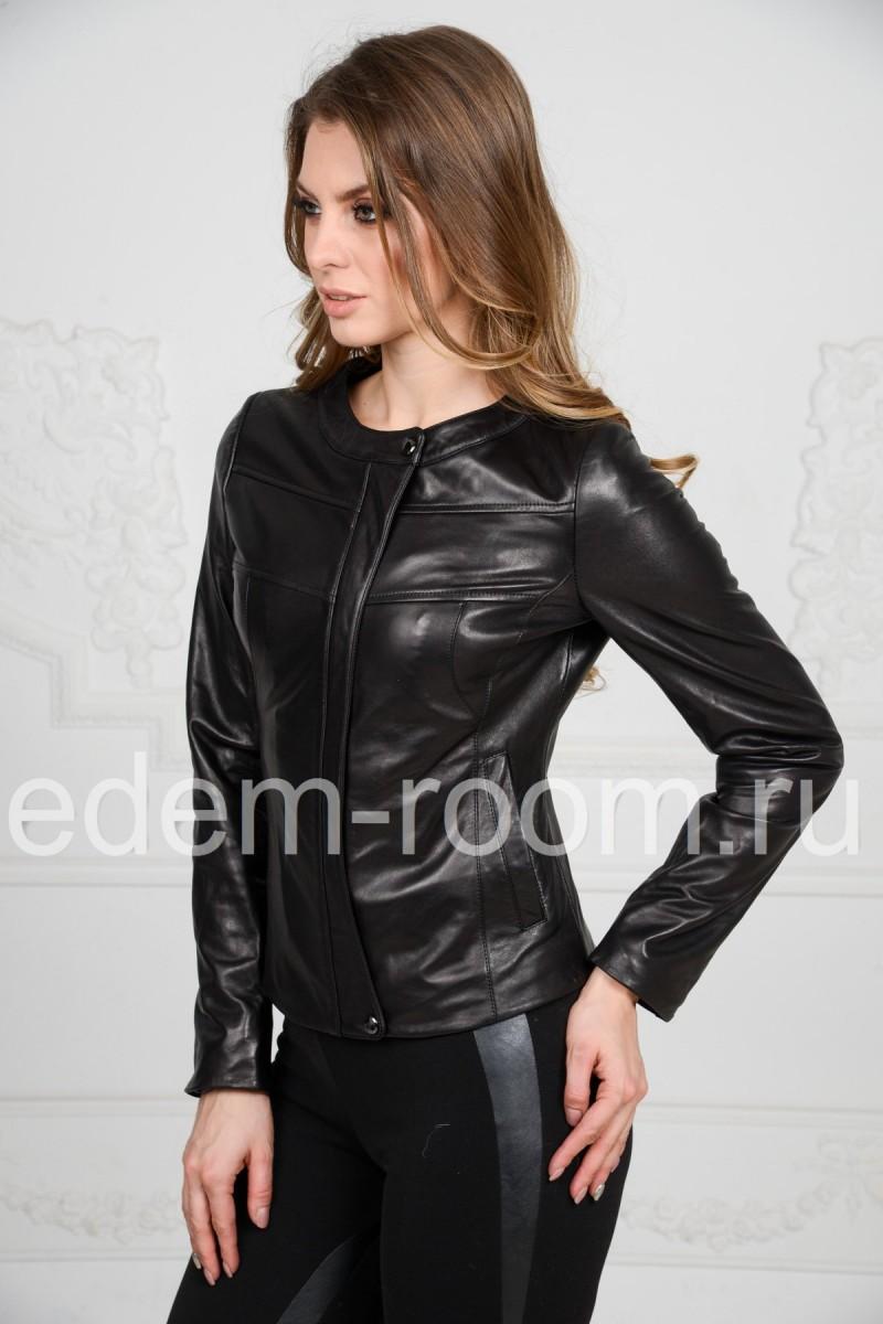 Женская кожаная куртка - Весна