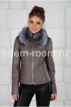 Короткая куртка с мехом