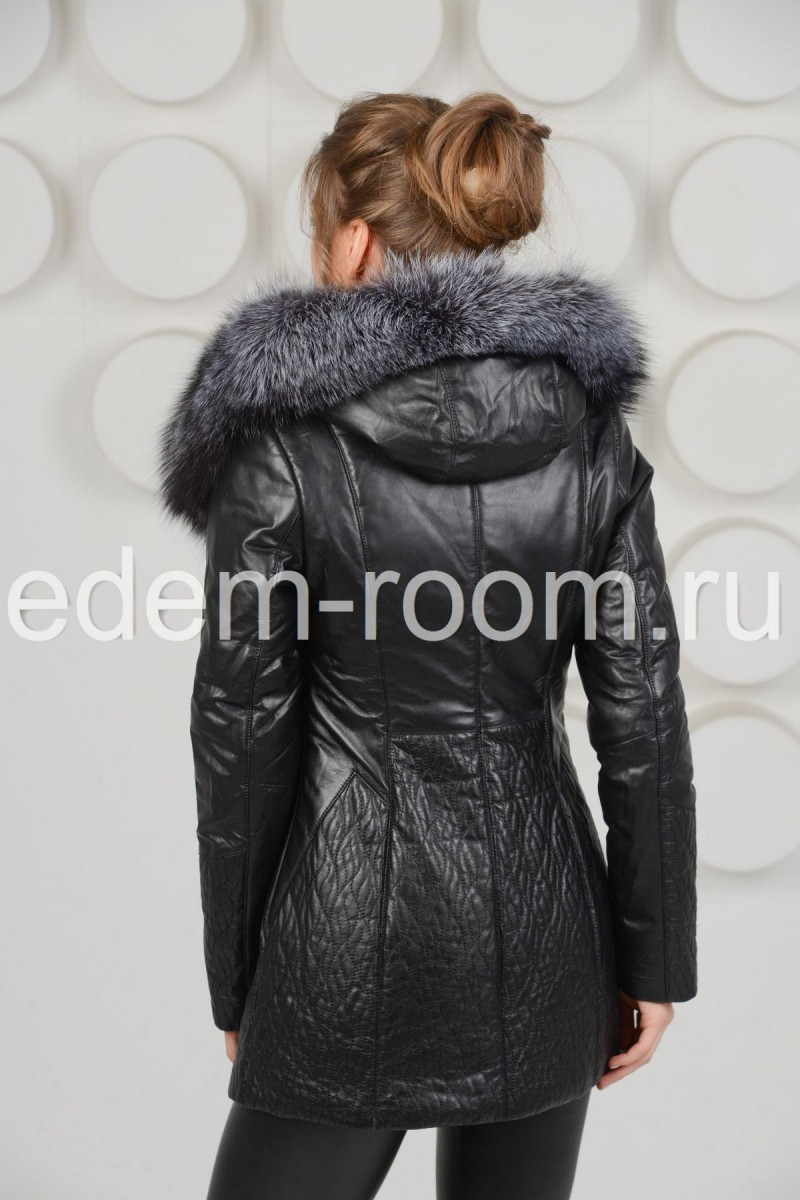 Тёплая куртка для осени