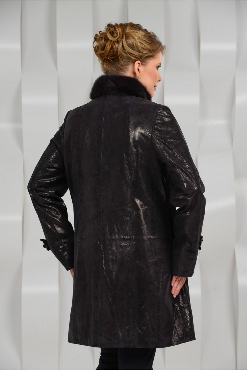 Женское пальто для больших размеров