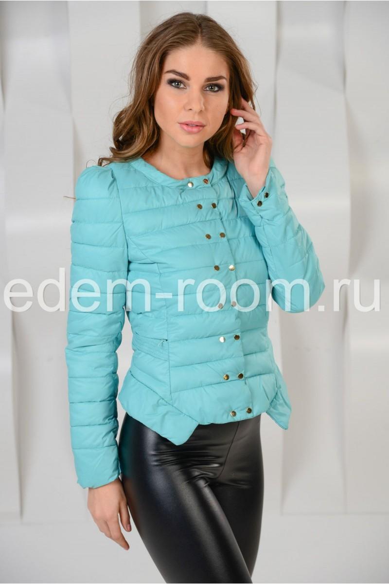 Укороченная весенняя куртка