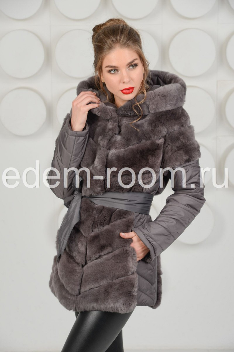 Меховая куртка -жилетка