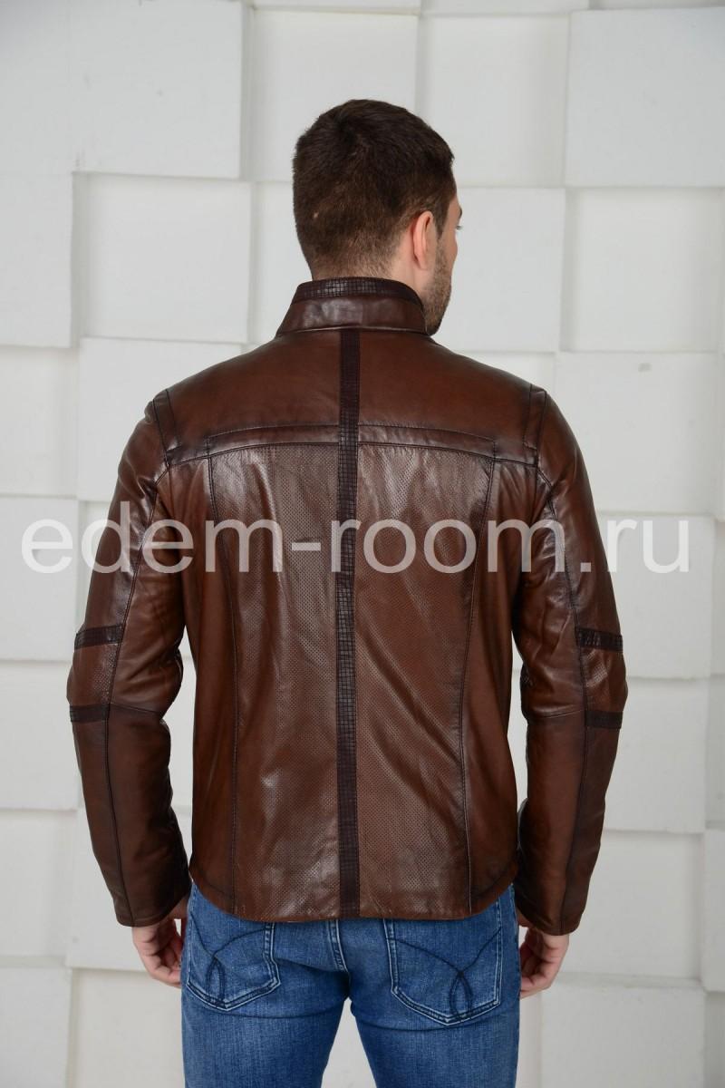 Кожаная куртка для мужчин