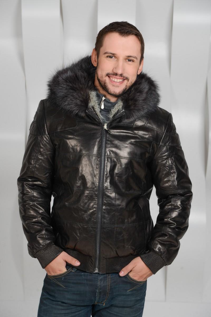 Куртка-дубленка на меху