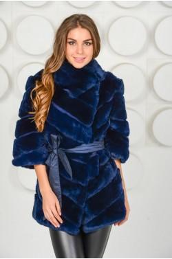 Зимняя куртка из кролика Рекс