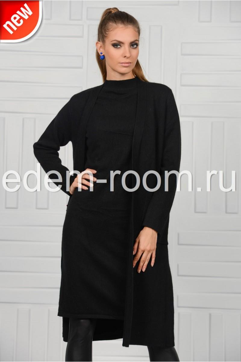 Комплект - пальто и платье