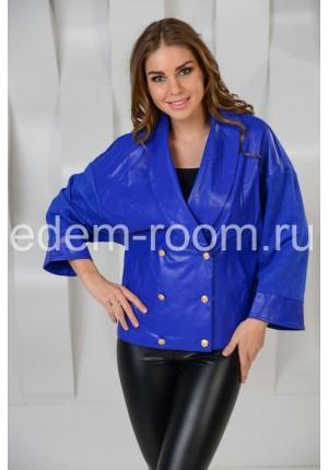 Синяя куртка на большие размеры