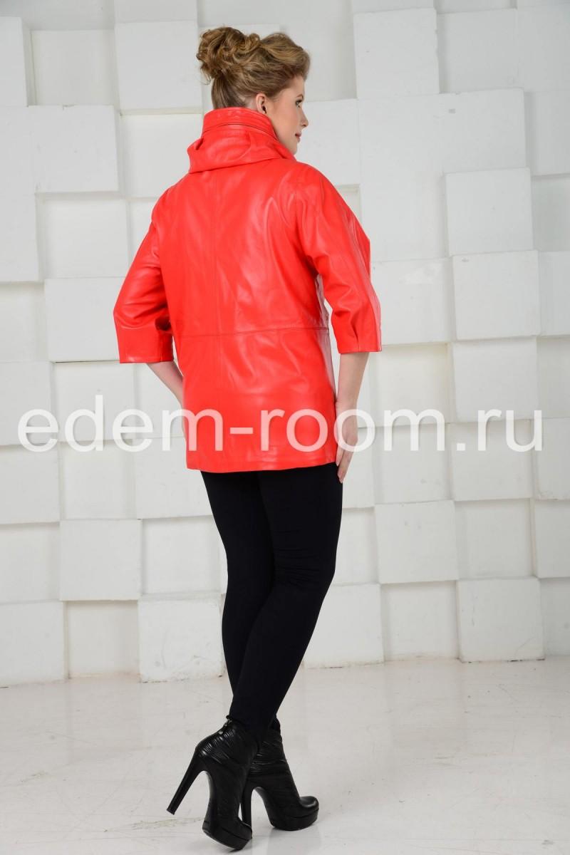 Современная кожаная куртка