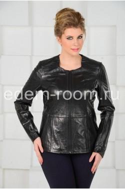 Классическая кожаная куртка