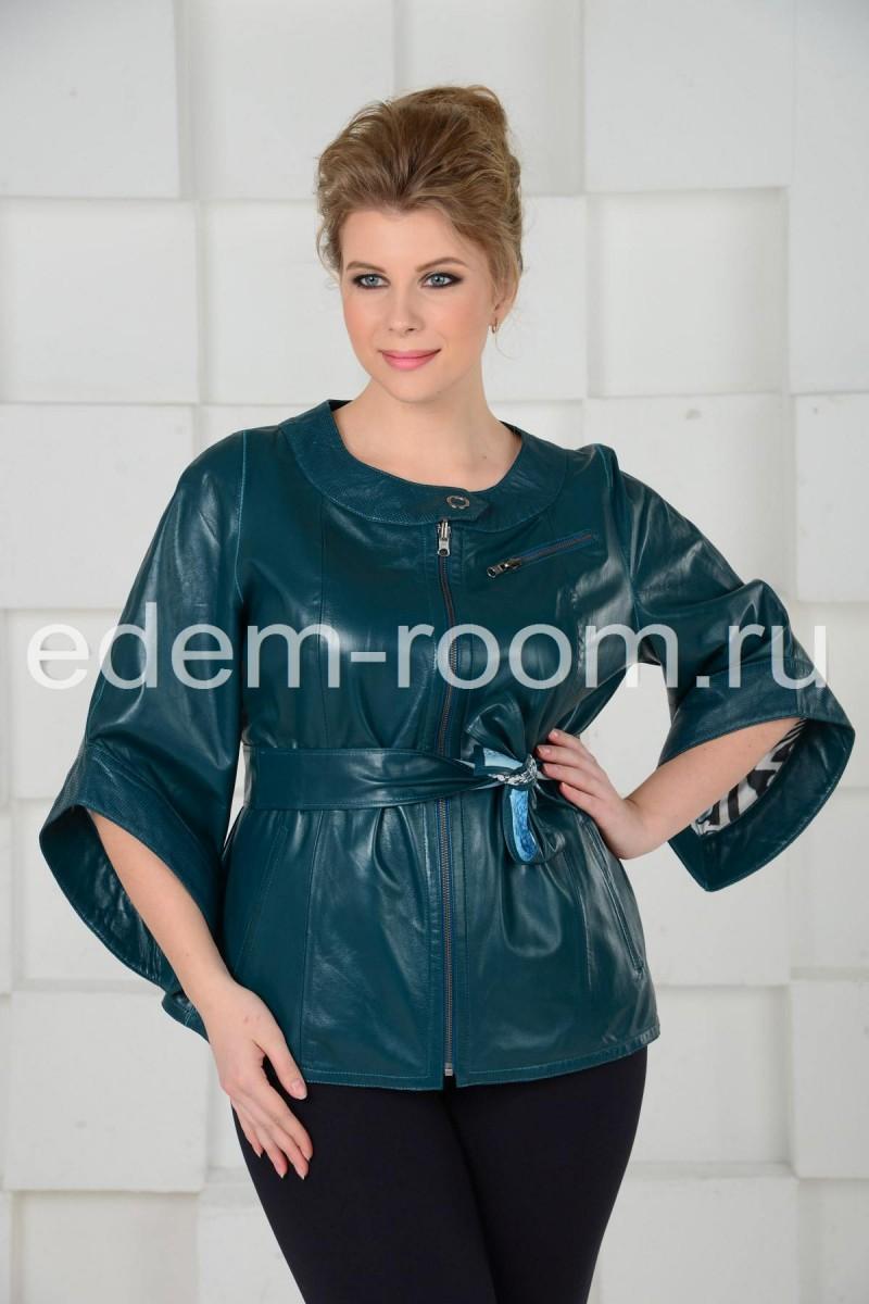 Двухсторонняя кожаная куртка для женщин