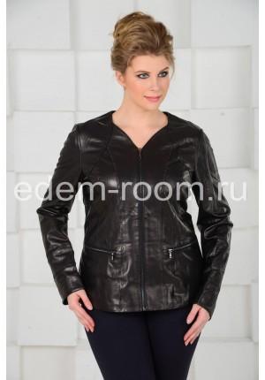 Классическая чёрная куртка
