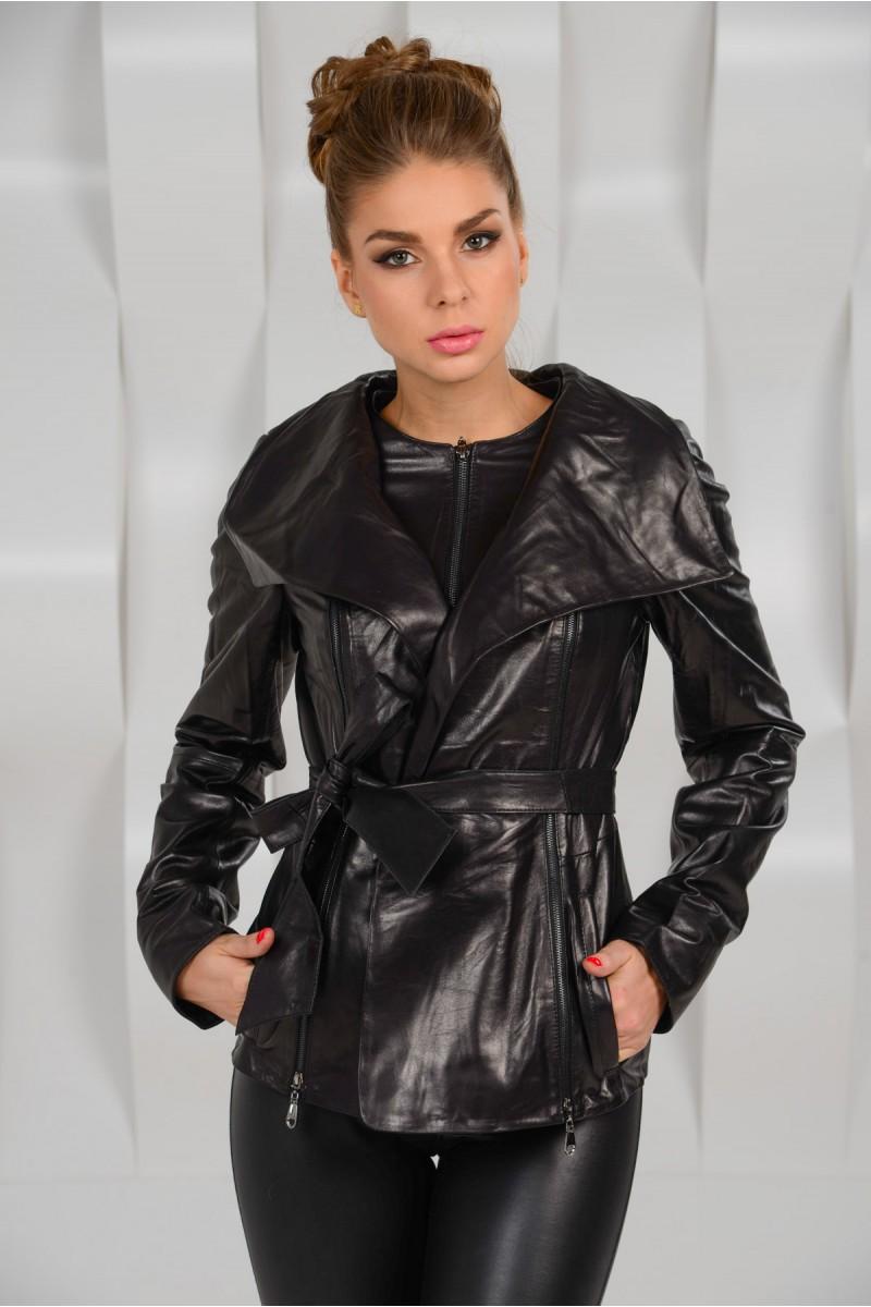 Новинка! Женская кожаная куртка