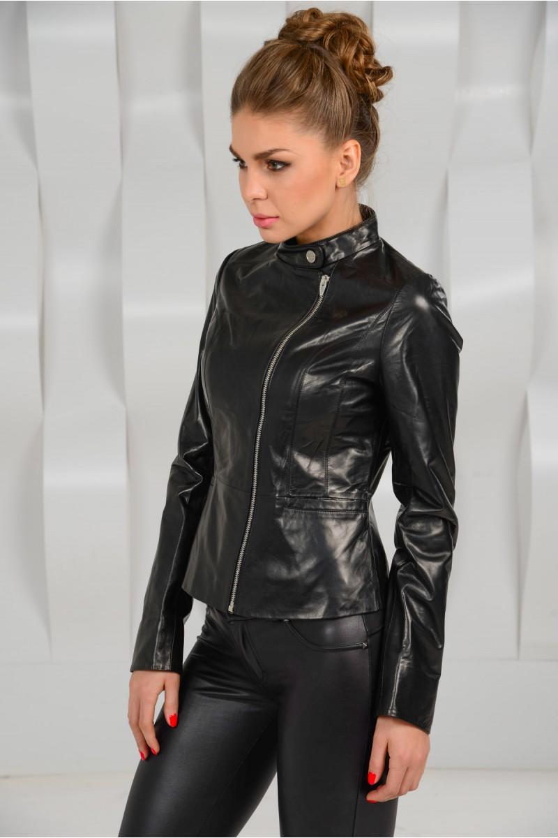 Куртка из натуральной кожи женская