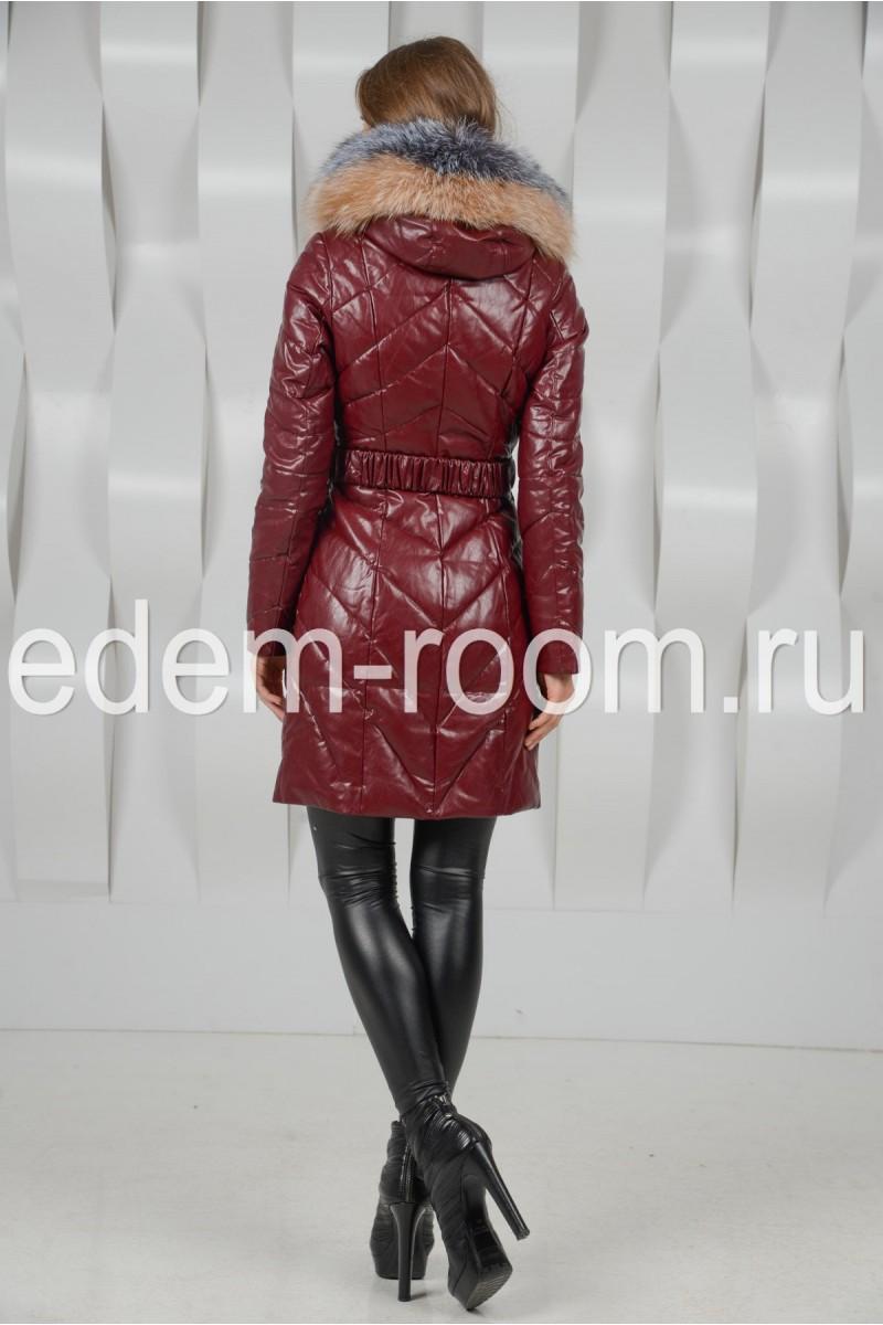 Удобное пальто с капюшоном