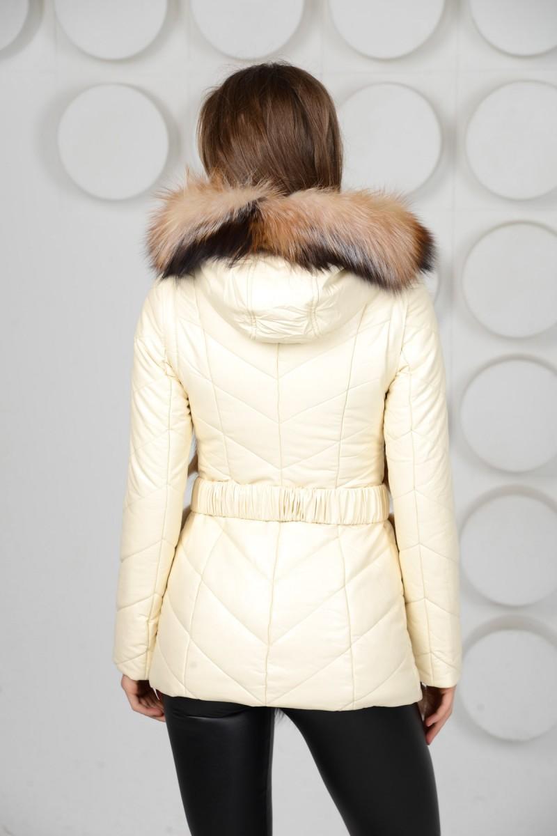Куртка трансформер из экокожи