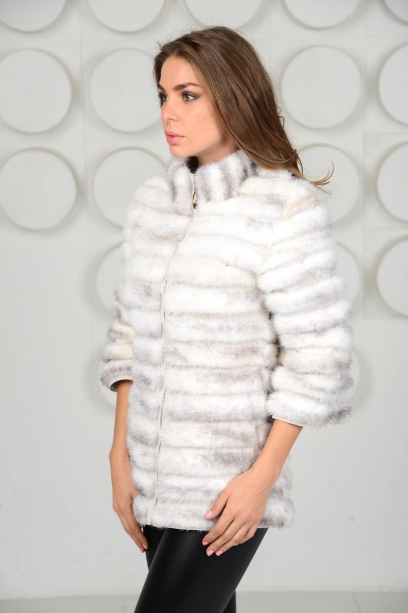 Норковая куртка (кусочки)