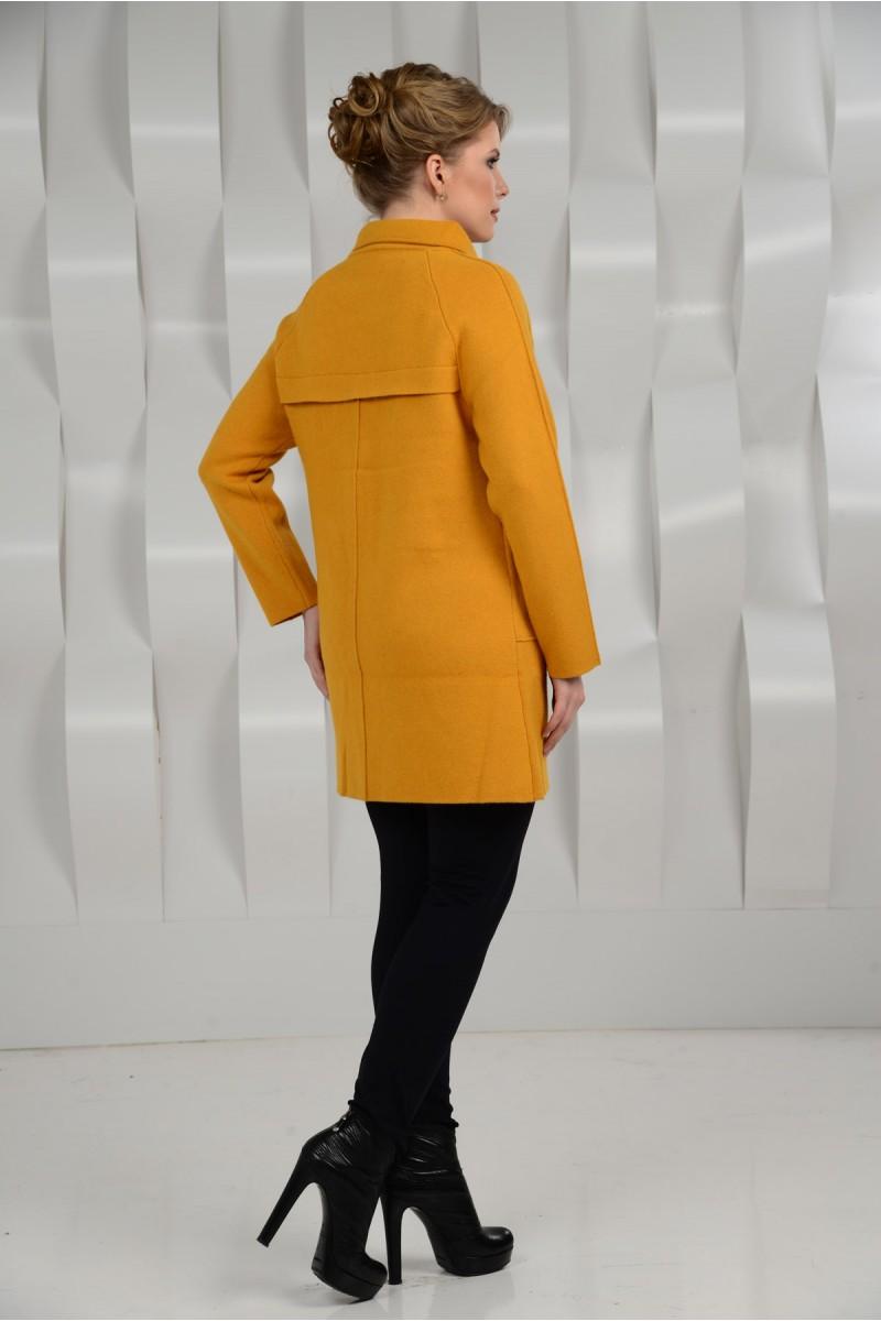 Укороченое пальто на большие размеры