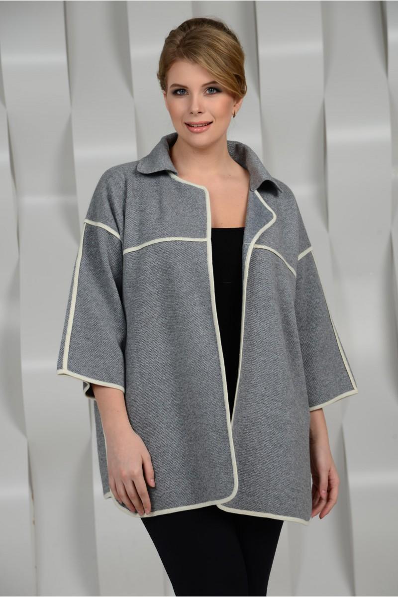 Весеннее пальто на большие размеры
