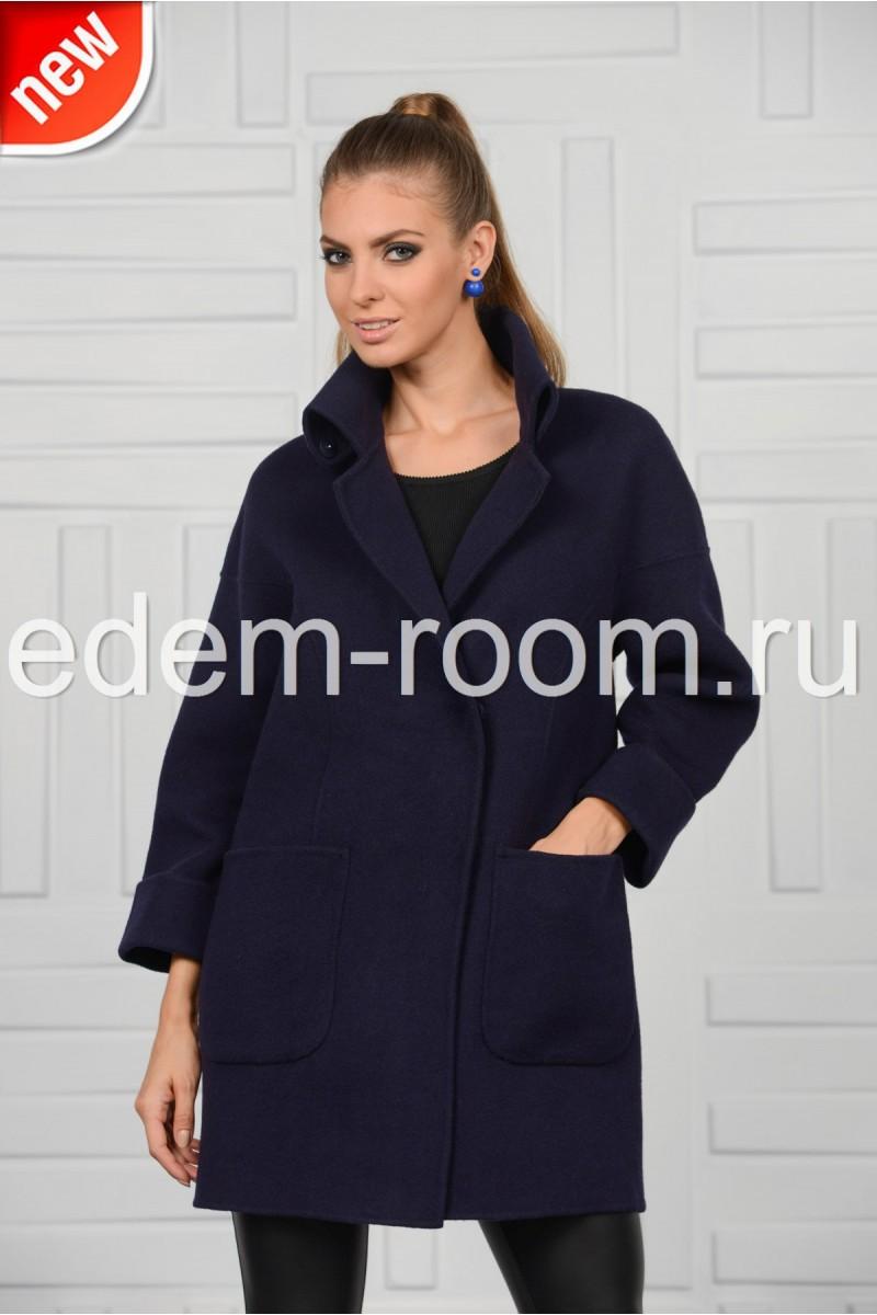 Стильное пальто из кашемира