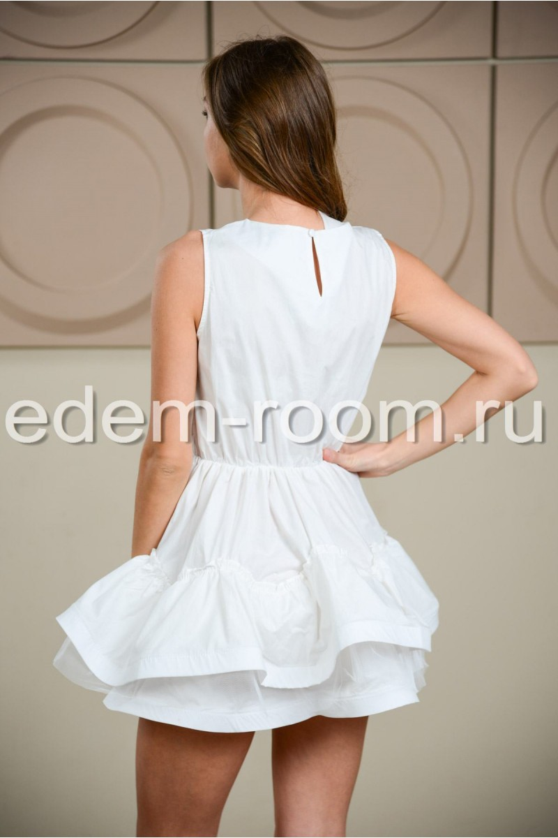 Платье из хлопка беби -долл