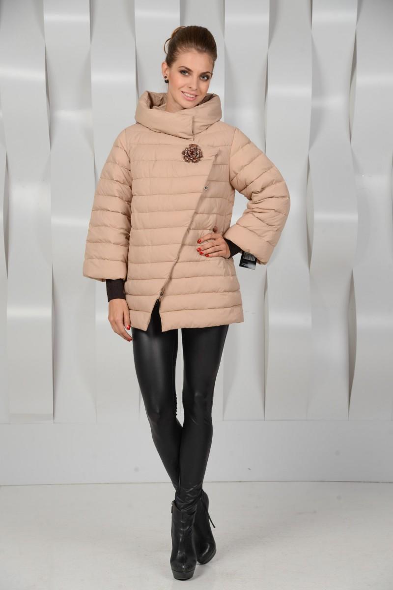 Утеплённая куртка для зимы