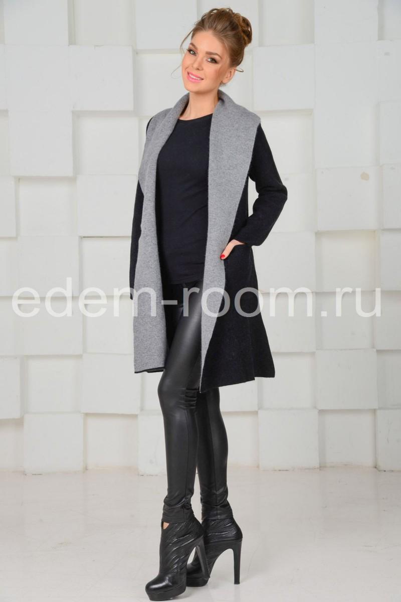 Трикотажное - пальто
