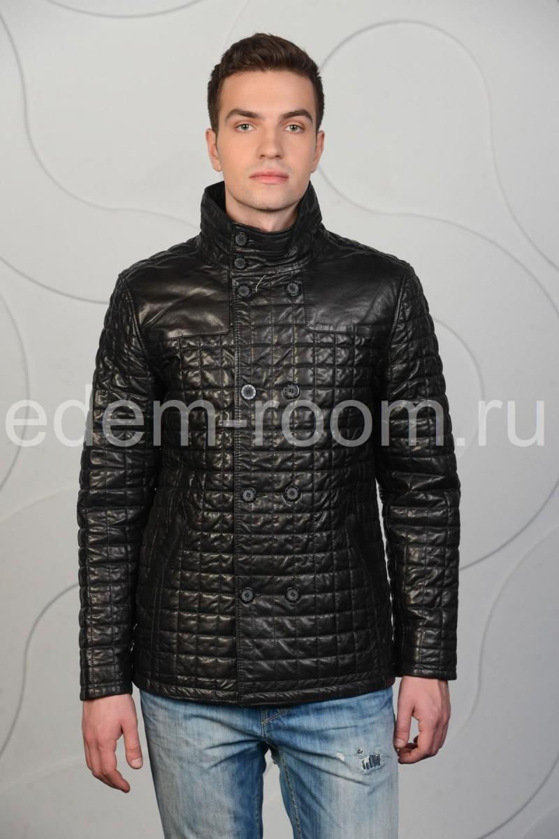 Мужская куртка на пуговицах