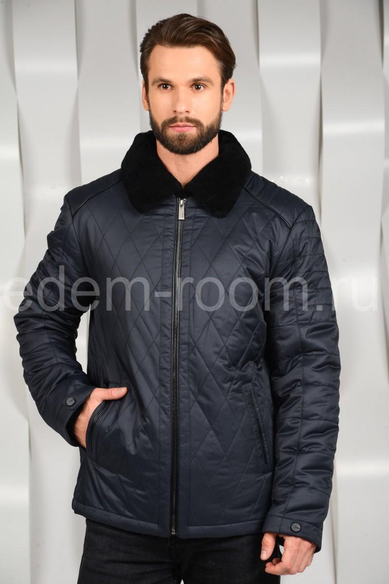 Мужская зимняя куртка на молнии