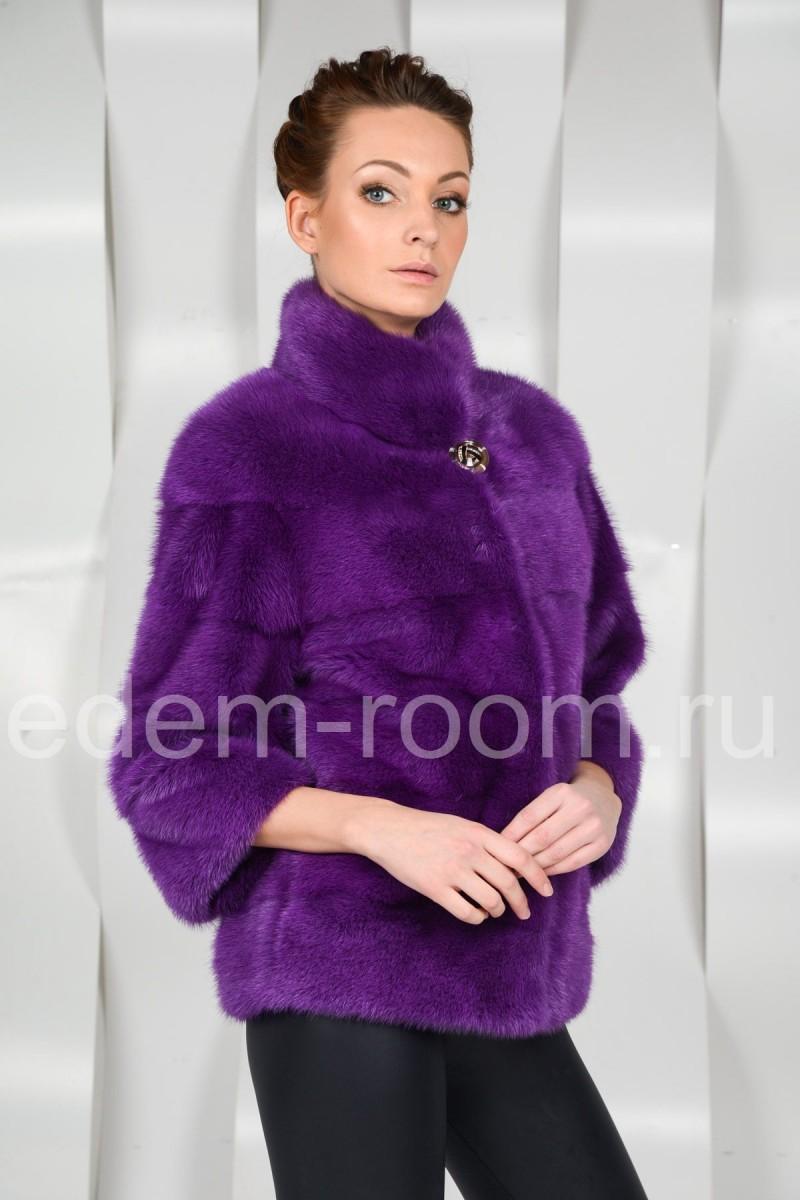Норковая шуба - куртка