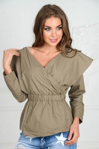 Блузка на резинке