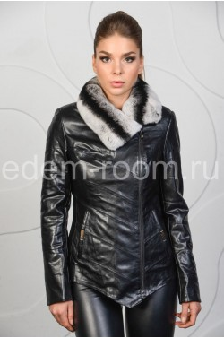 Куртка на межсезонье из эко-кожи