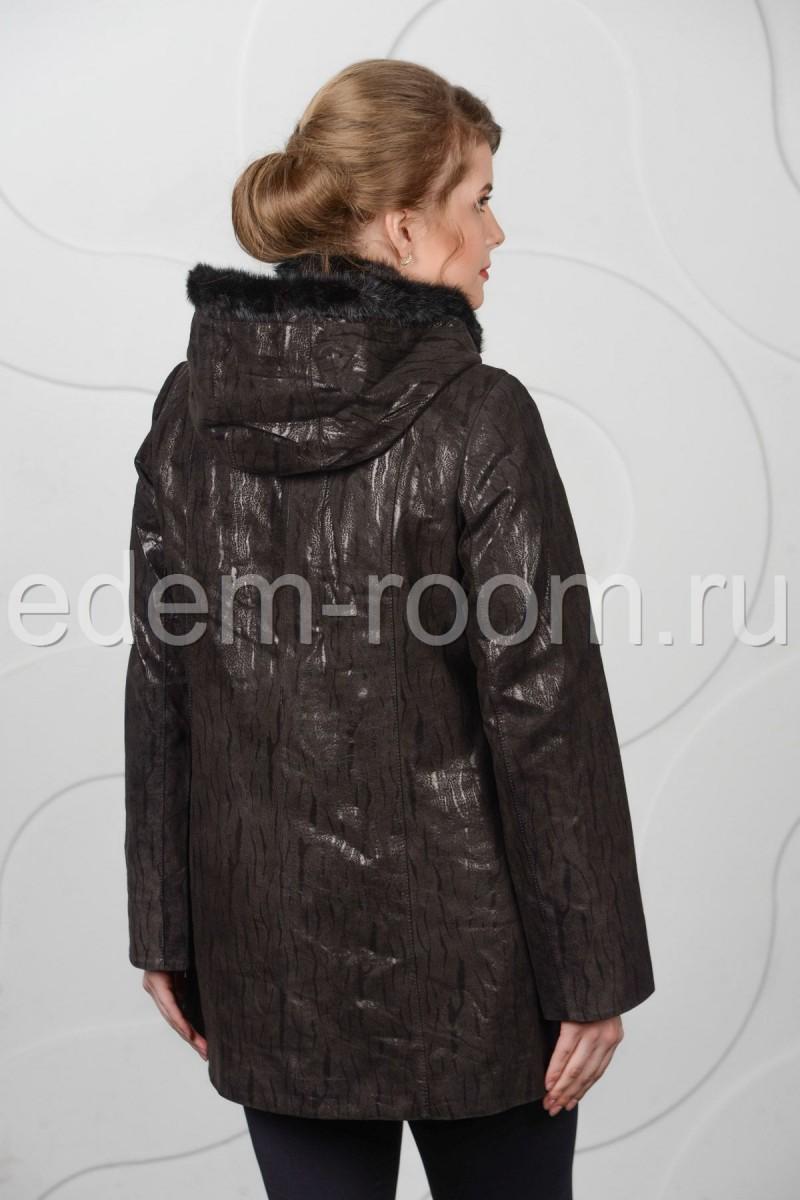 Демисезонная куртка для большого размера
