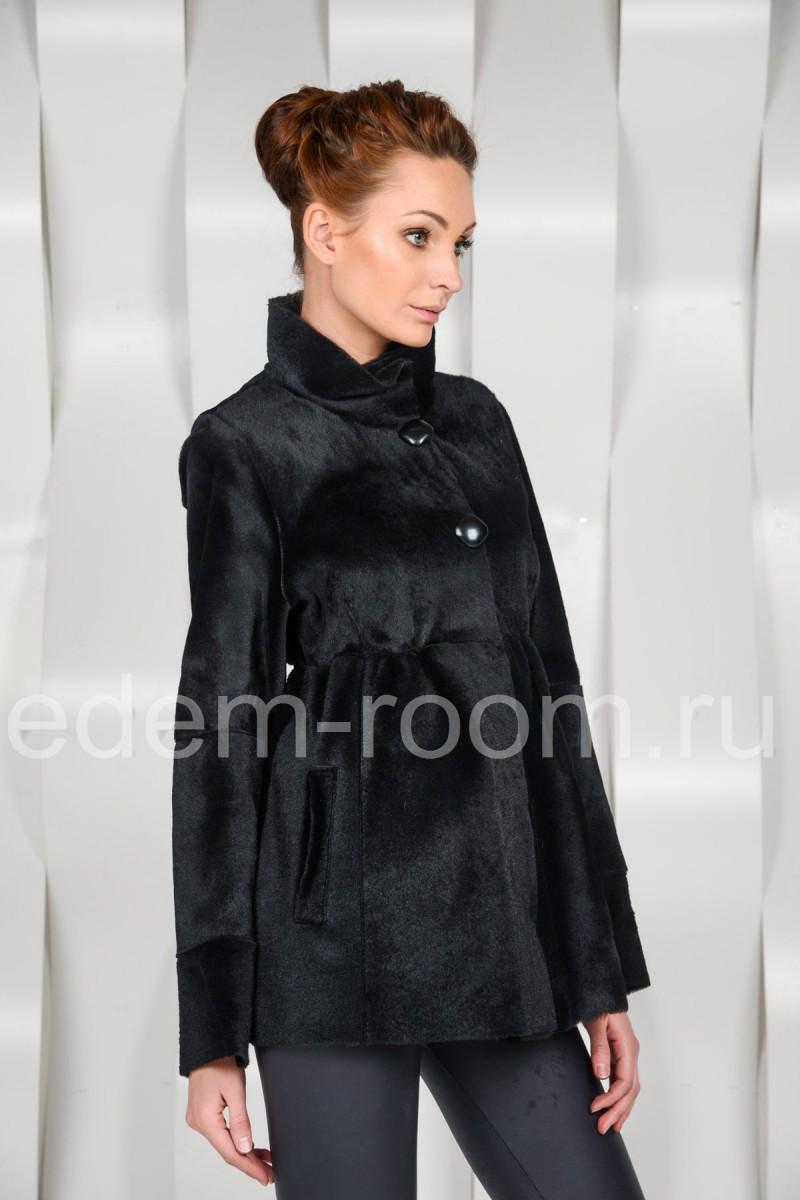 Демисезонная меховая куртка