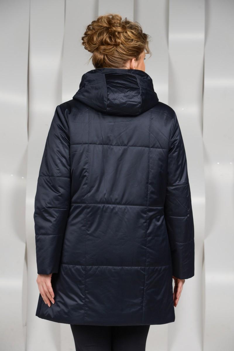 Тканевая куртка с капюшоном