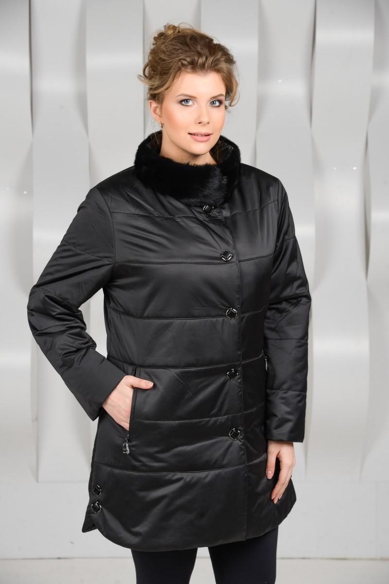 Демисезонная куртка воротник стойка