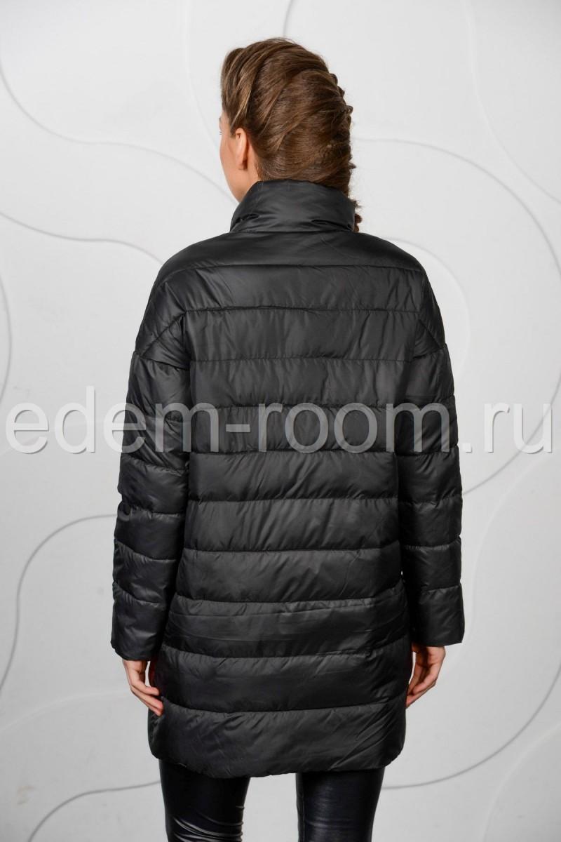 Чёрная куртка на межсезонье: весна - осень