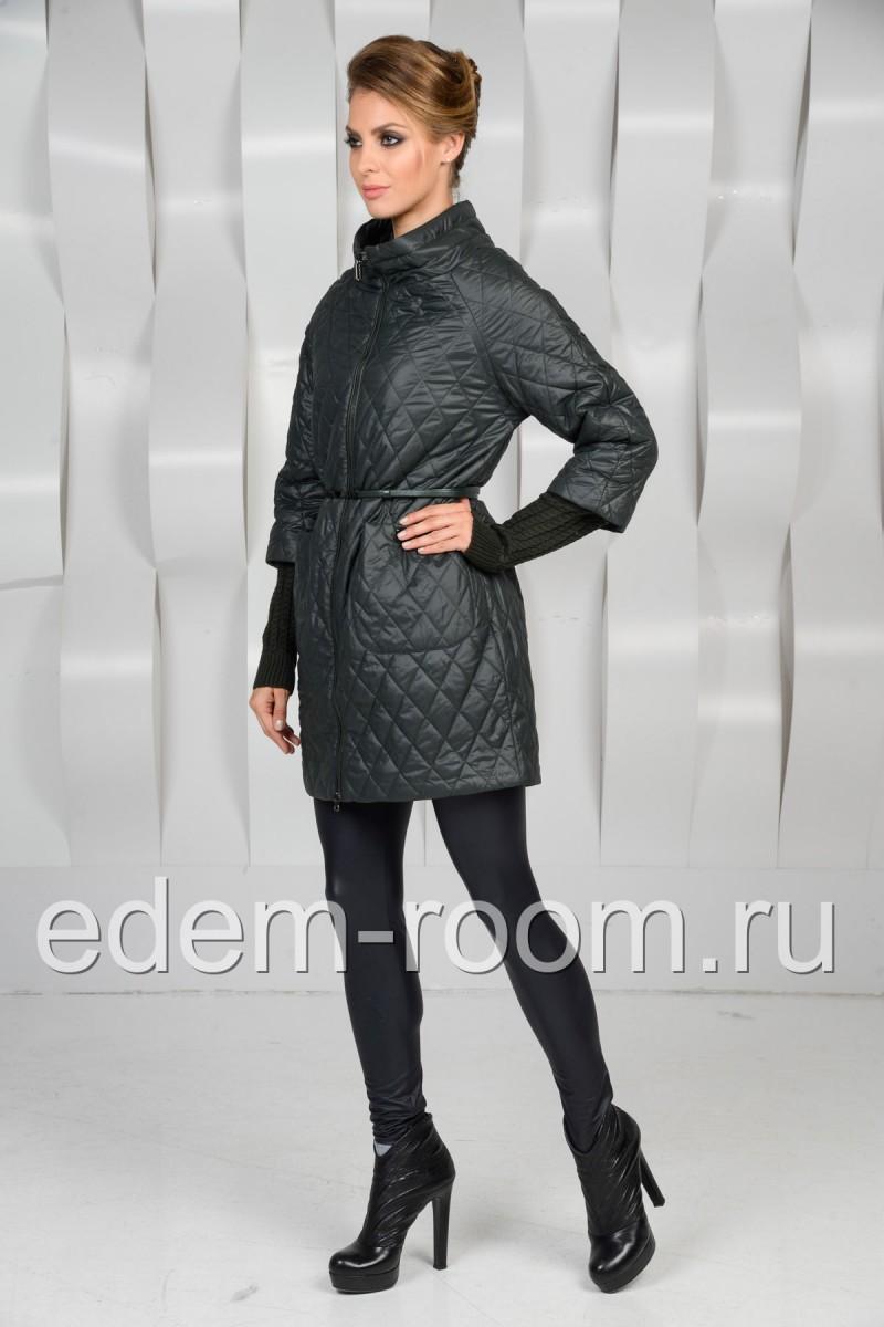 Удлинённая куртка на молнии