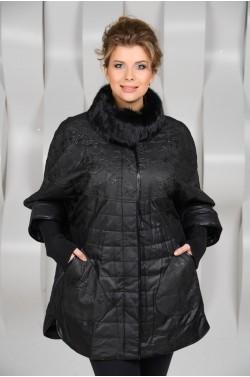 Тканевая куртка для большого размера