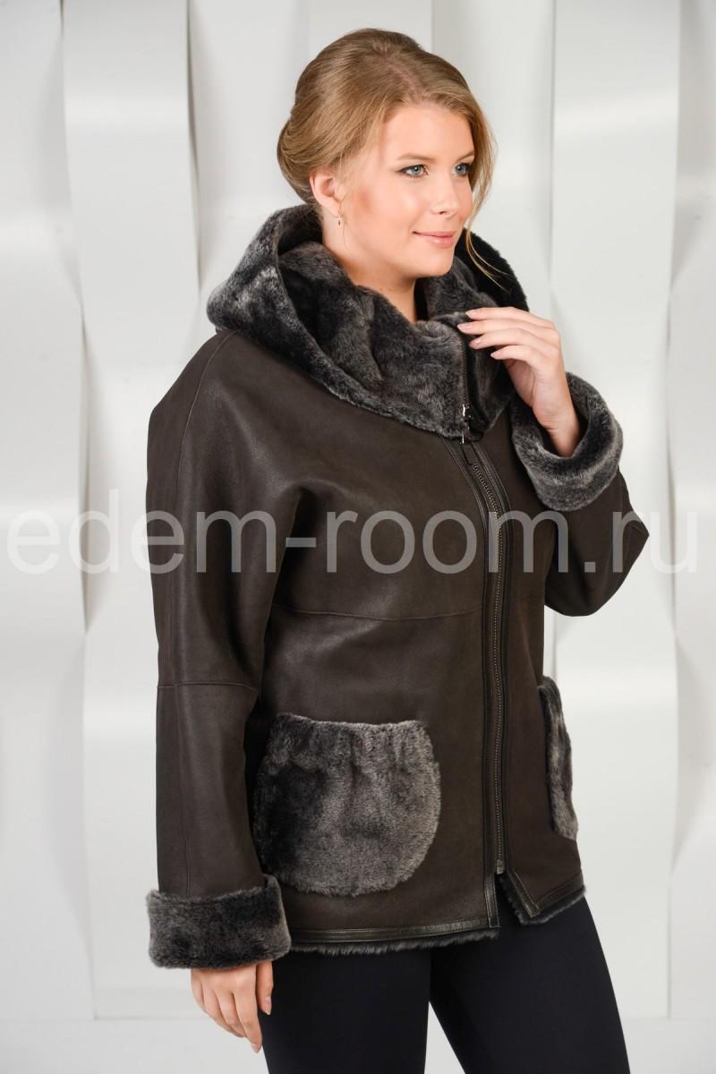 Женская дублёнка - куртка
