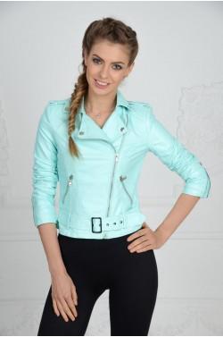 Бирюзовая куртка - косуха
