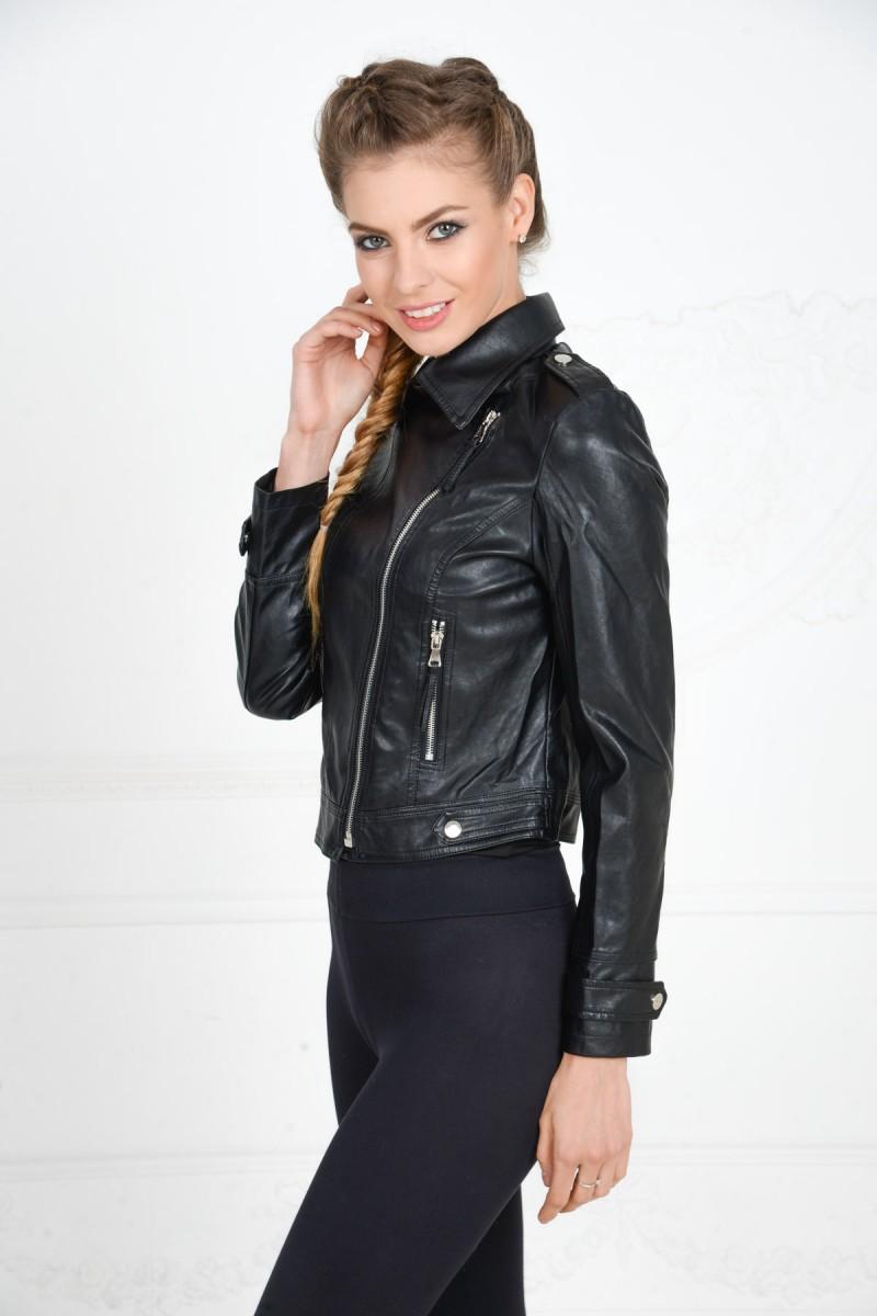 Куртка - косуха из искусственной кожи