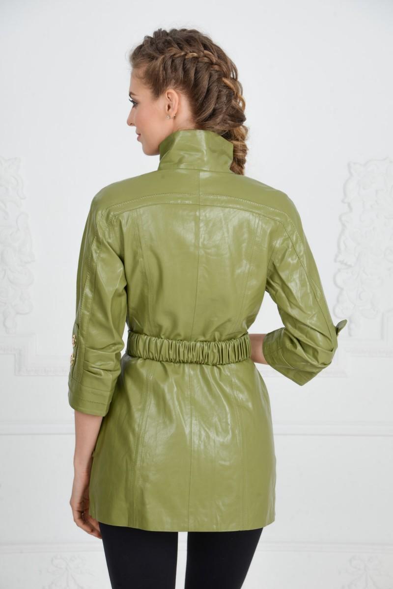 Куртка для всены из искусственной кожи