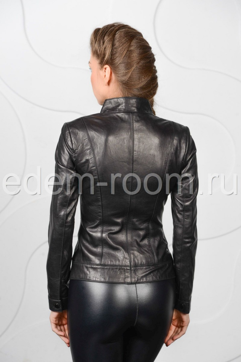 Куртка из натуральной кожи для весны