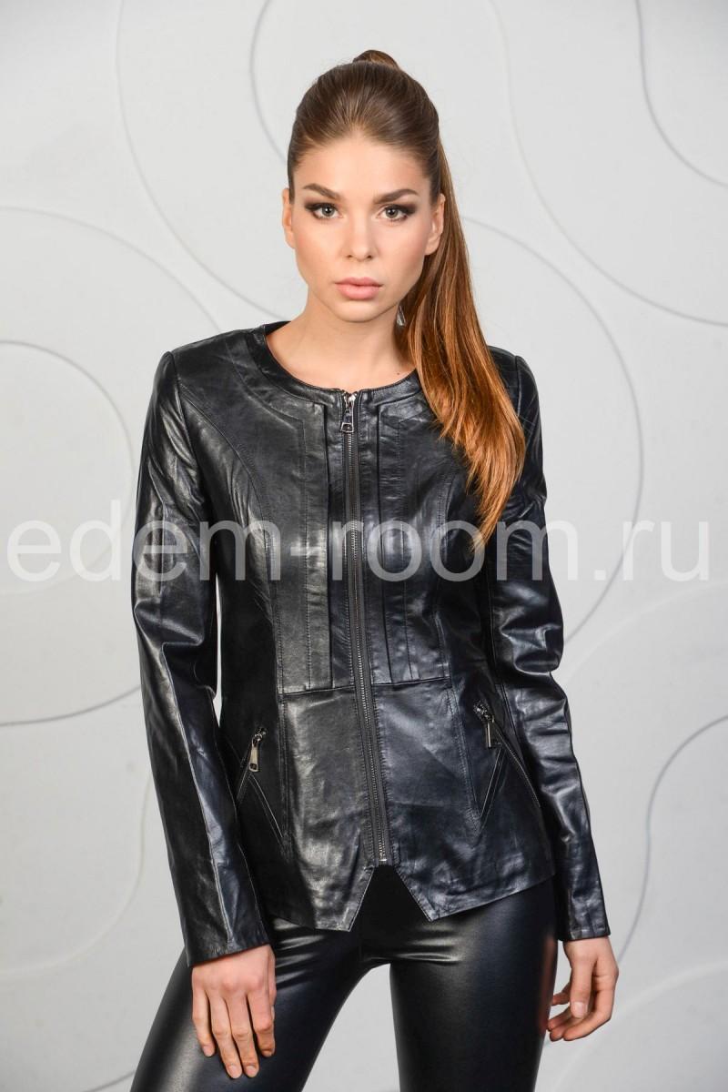 Женская кожаная куртка - весна 2016