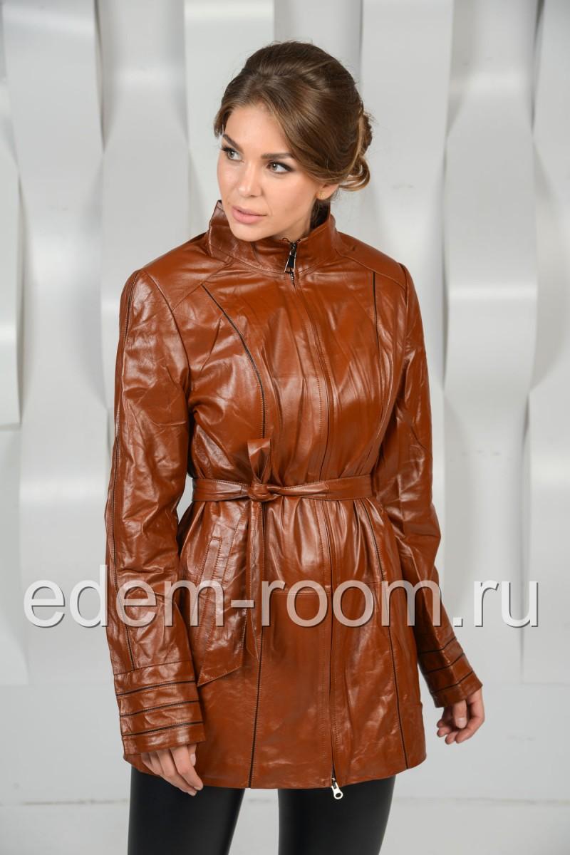 Кожаная куртка для осени