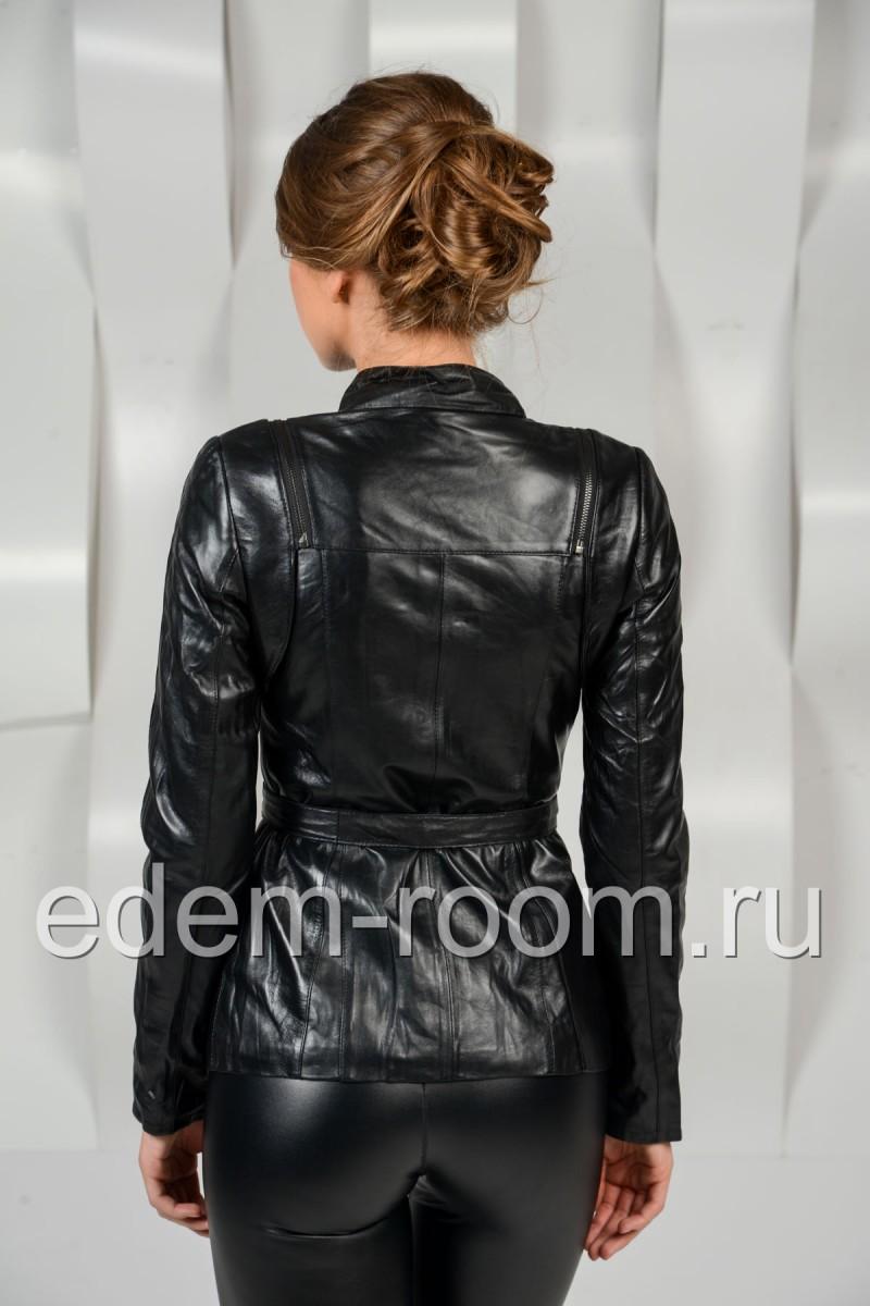 Удобная кожаная куртка