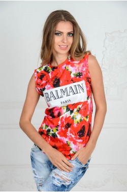 Майка Balmain