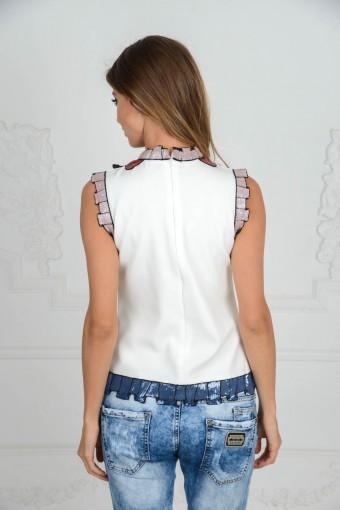 Блузка с поедками GUCCI