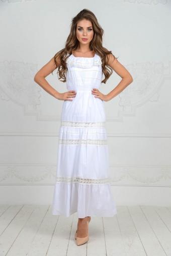 Белый сарафан