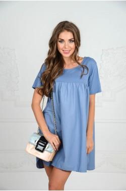 Укороченное платье для лета